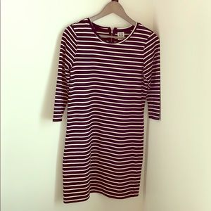 Vero moda dress, black and white stripes